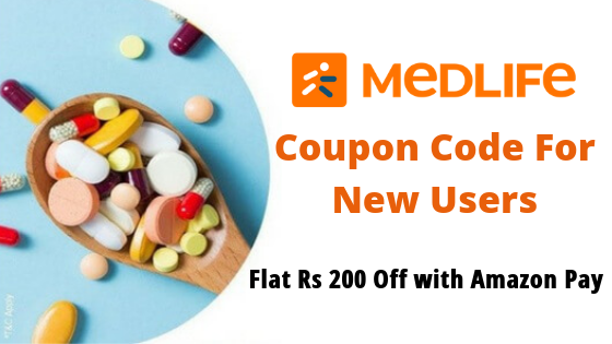 Flat 30% Off on Medicines + Upto Rs. 250 Amazon Pay Cashback (New Users)